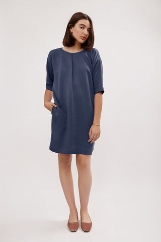Tala Dress in Blue from Amanda Moss