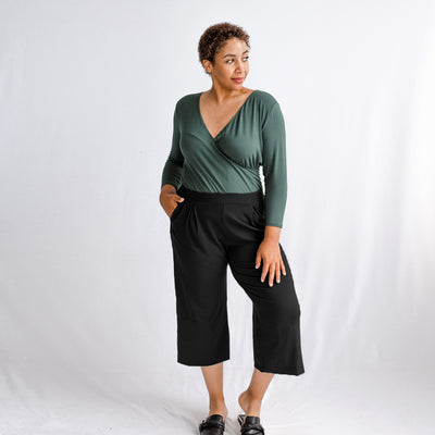 The Breakaway Wrap Top