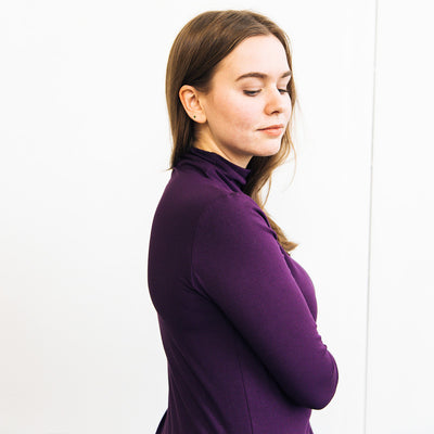 The Minimalist Mock Neck
