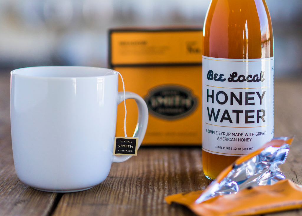 Bee Local Honey Water - A Simple Syrup Made From Honey
