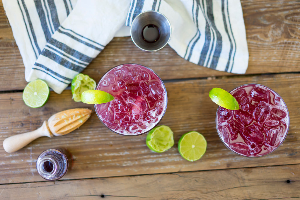 Hibiscus Limeade w/ Bee Local Honey Water