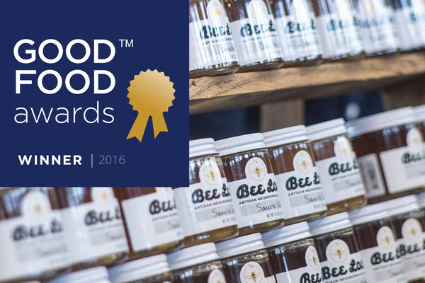 Bee Local Wins 2016 Good Food Award