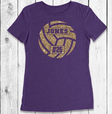 Racerback Tank Top Purple and Gold Beach Volleyball Clothing