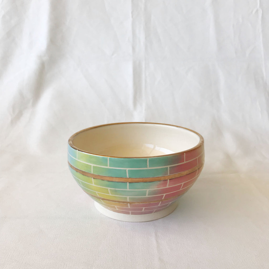 Kate Etherington Handpainted Ceramic Fruit Bowl
