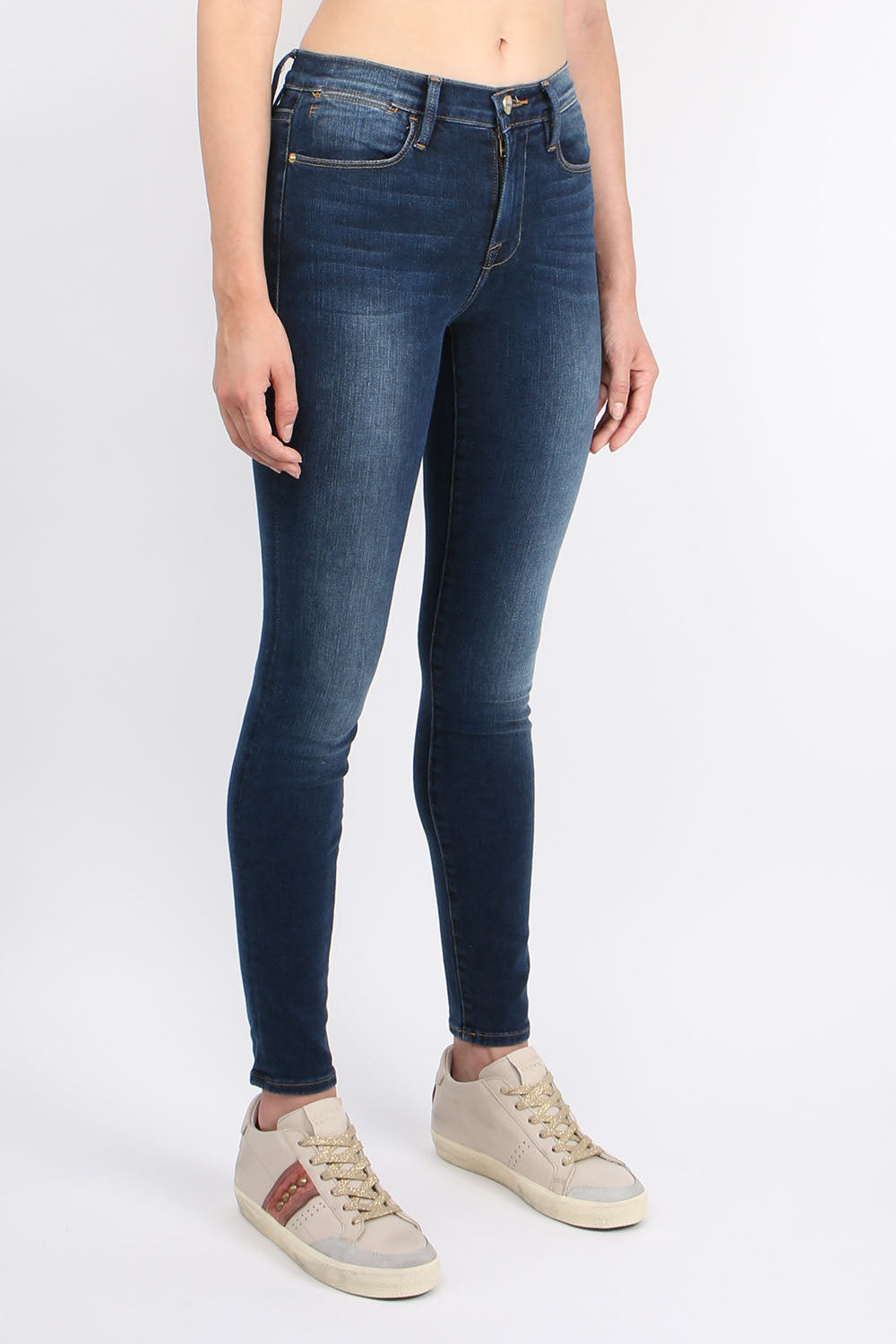 Frame Denim Le High Skinny Claredale
