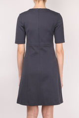 Peserico A-Line Short Sleeve Dress