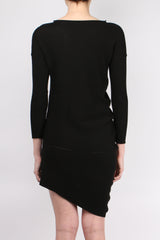 One Choi Asymmetrical Knit Dress