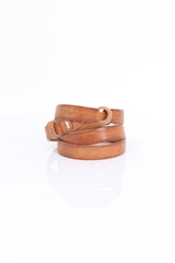 Pomandere Notched Belt Brown