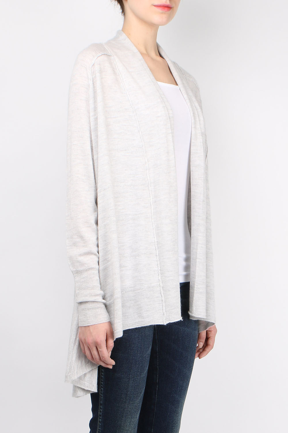 Paychi Guh Floaty Cardigan Dove Grey