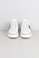Donna Classic Hightop W/ Blue Pony
