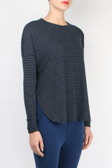 Tee Lab Relaxed Long Sleeve Tee Blazer Stripe