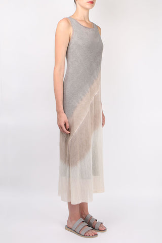 Bias Tank Dress With Slip