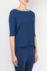 Tee Lab by Frank & Eileen Elbow Tee in Blazer