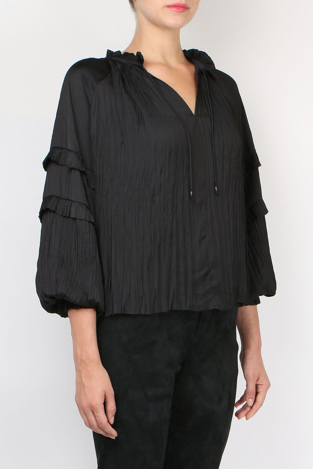 Ulla Johnson Carolina Blouse Noir