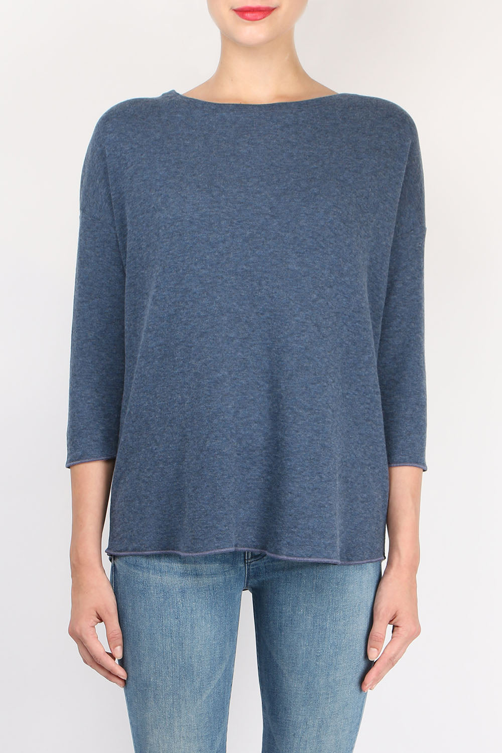 Majestic Filatures Double Face Boatneck