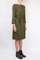 Pomandere Belted Dress