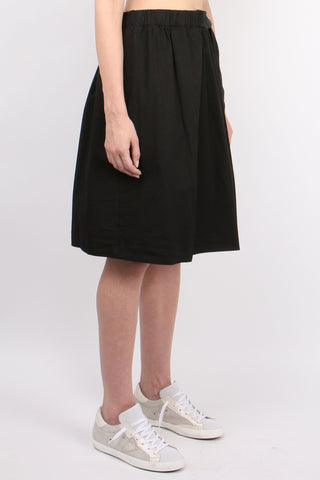 Belted Mid Skirt
