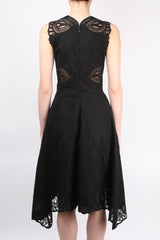 Jonathan Simkhai Crochet Embroidered Dress