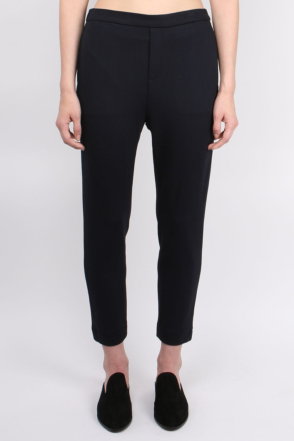 Sibel Saral Pullup Interlock Pant Navy
