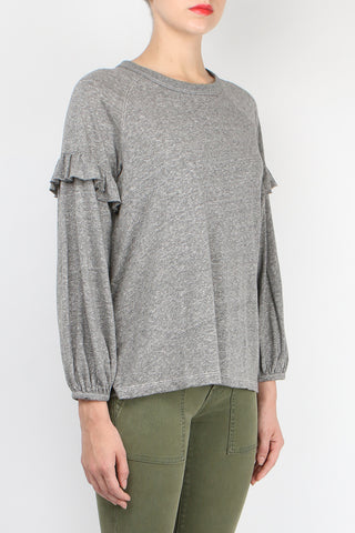 The Raglan Ruffle Tee