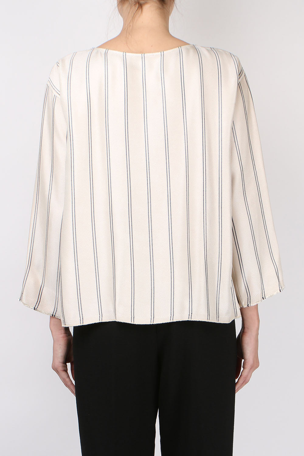 Striped Roundneck Top