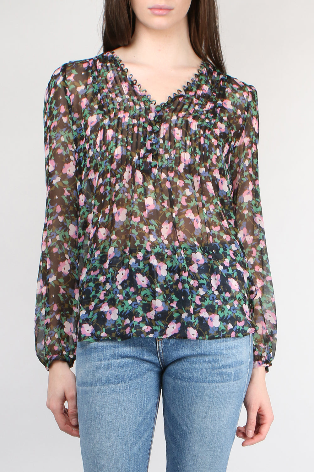Veronica Beard Lowell Blouse