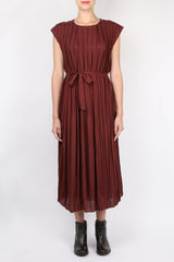 Pomandere Pleated Dress
