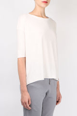 Frank & Eileen Tee Lab Elbow Tee in Vintage White