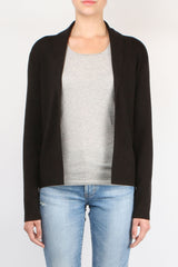 Catherine Hammel Cropped Shawl Cardigan