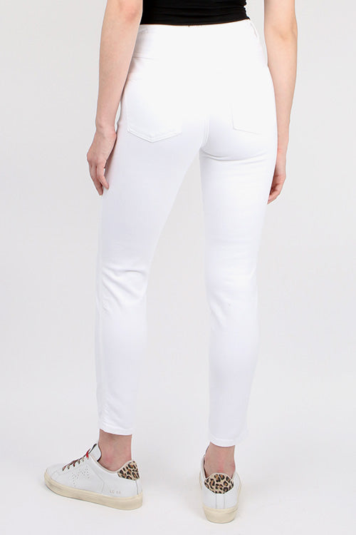 CLOSED Denim Skinny Pusher in White