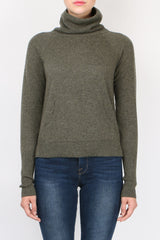 Veronica Beard Oliver Funnel Neck Sweater