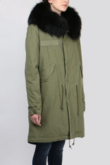 Army Parka Rabbit Fur