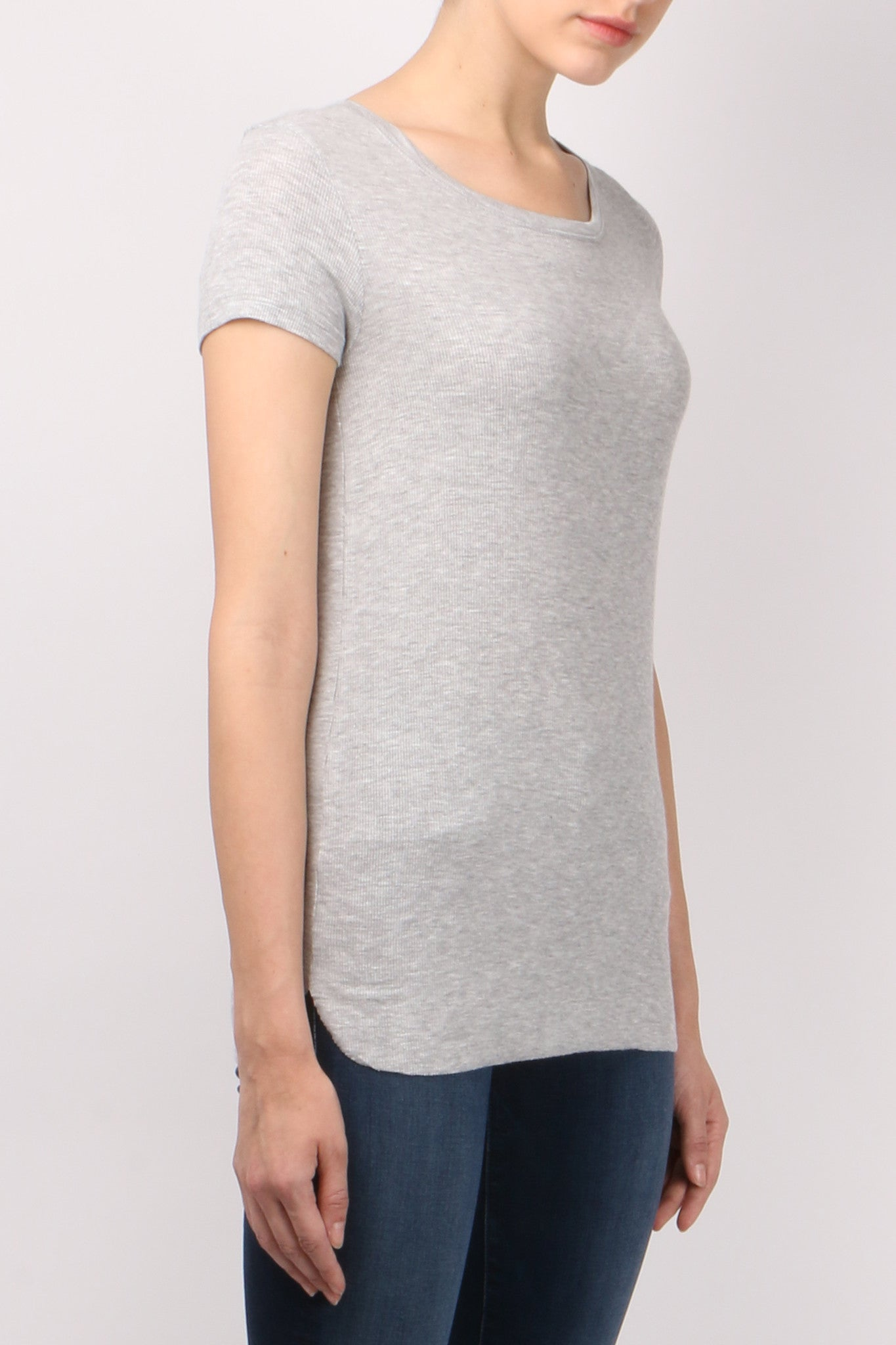 Majestic Short Sleeve Boatneck