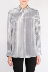 Jenni Kayne Striped Boyfriend Shirt