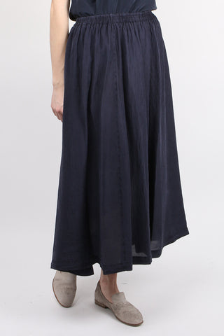 Habotai Silk Long Skirt