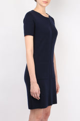 Allude Pocket Knit Dress
