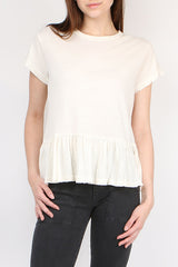 The Ruffle Tee