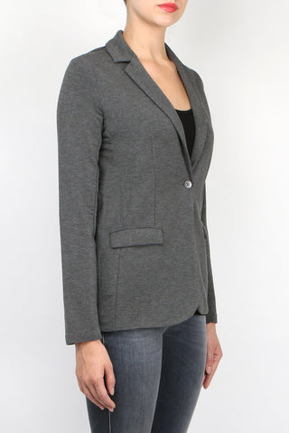 French Terry Blazer