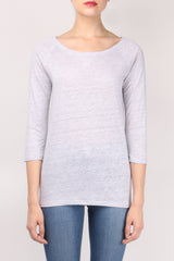 Majestic Filatures Raglan Boat Neck Top