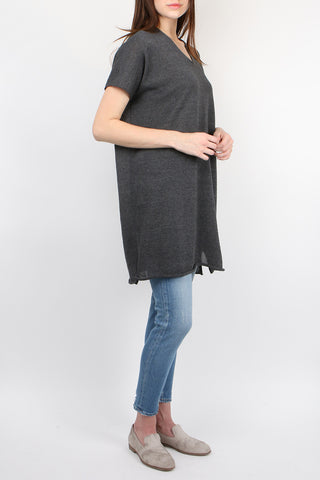 Dry Cotton V Neck Tunic