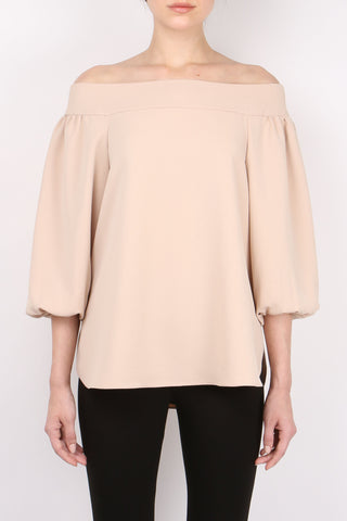 Twill Off Shoulder Top