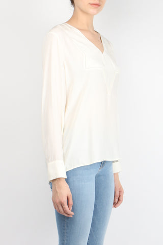 V Neck Star Yoke Top