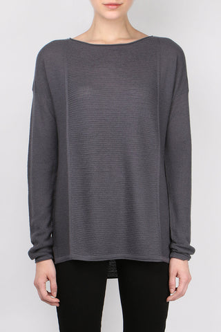 Paychi Guh Textured Bateau Iron Grey