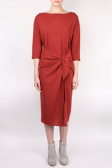 Cortana Mirlo Dress Rouge