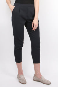 Cotton Double Cloth Tuck Pants