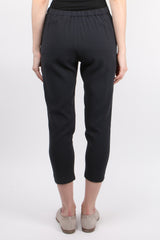 Evam Eva Cotton Double Cloth Tuck Pants