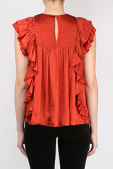 Ulla Johnson Winnie Top Crimson