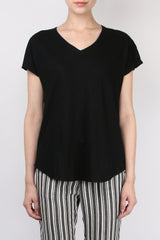 Cathrine Hammel V Neck Tee Shirt