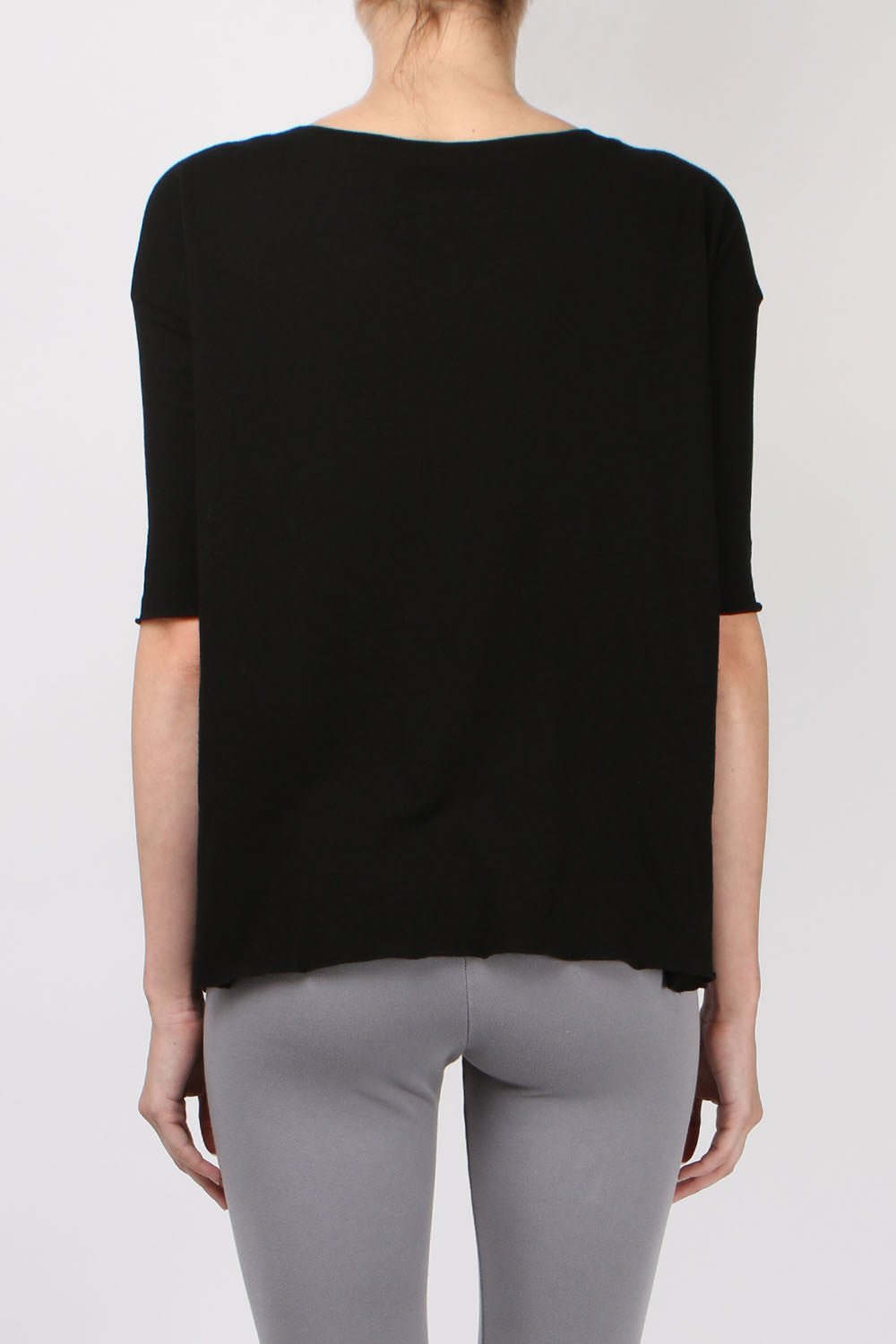 Tee Lab by Frank & Eileen Elbow Tee in Blackout