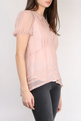 Lee Mathews Hariette Georgette Top
